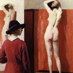 Laura Knight, Self-Portrait, 1913