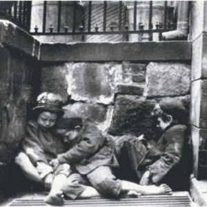 Jacob Riis, Street Arabs in the area of Mulberry Street, the New York times called Riis Americas first photojournalist, photograph.