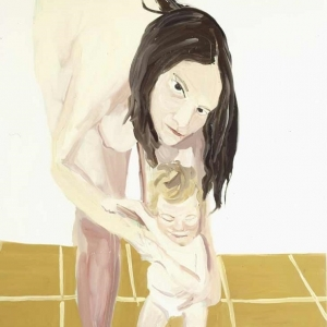 Chantal Joffe, Mother and Child, 2005