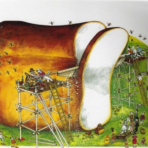 john-vernon-lord-the-giant-jam-sandwich-1972