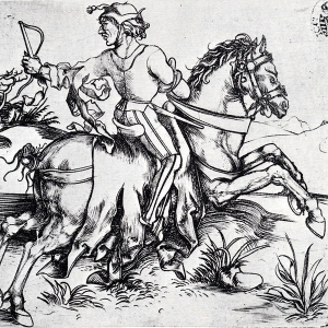Durer, The Great Courier, 1494