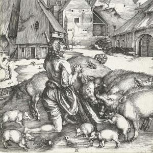 Durer, The Prodigal Son, 1495 96
