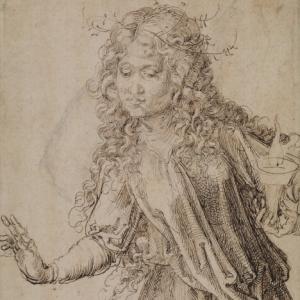Durer, A Wise Virgin, 1493