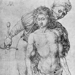 Durer, Youth Kneeling Before an Executioner, c 1493