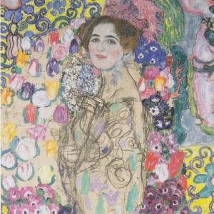 Gustav Klimt, Portrait of Ria Munk III, 1917-18