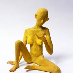 Francis Upritchard, Yellow Figure, 2007