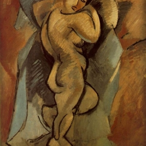 Large Nude by Georges Braque