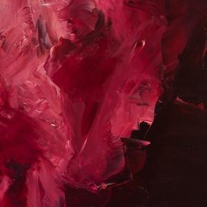 Figures in Red detail, Jennifer Mills