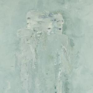 Figures in Blue detail, Jennifer Mills
