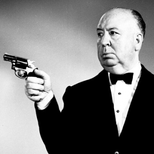 Alfred Hitchcock. Photograph by Brocking Movies