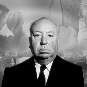 Alfred Hitchcock. Photograph by Kards Unlimited