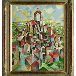 Pablo Picasso, Cadaqués, 1910. Imitation by John Myatt