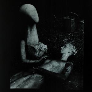 Josef Sudek, Mannequin and Sculpture, 1953-1957.