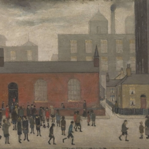 Lowry, Coming Out of School, 1927