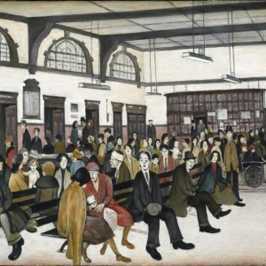 Lowry, Ancoats Hospital Outpatients Hall, 1952