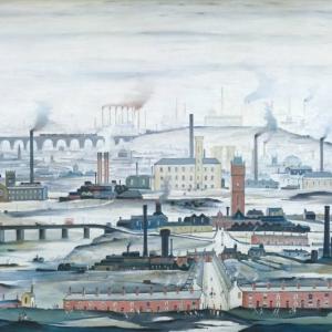 Lowry, Industrial Landscape, 1955