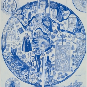 grayson-perry-map-of-nowhere-2008-part-of-the-art13-london-global-art-fair-sposored-by-citi-private-bank