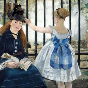 Manet, The Railway, 1872.