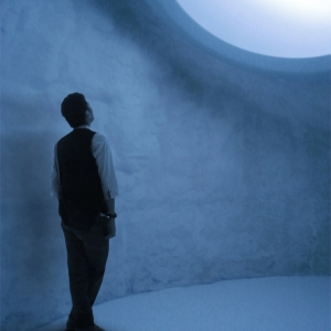 Mariko Mori and Kengo Kuma, inside the white hole