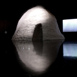 Mariko Mori and Kengo Kuma, White Hole Collaboration