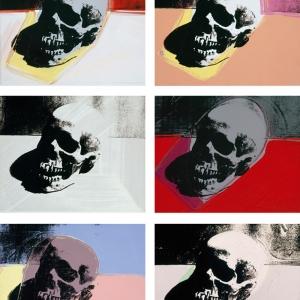 Skulls, Andy Warhol, 1976, Acrylic on Silkscreen