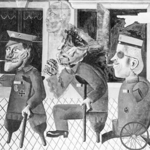 Otto Dix, The War Cripples (45% Fit for Service), 1920, oil