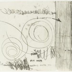 Mira Schendel, A Trama (A Fabric Net), c.1960s