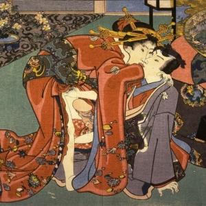 Utagawa Kunisada, Hana No En, c 1850-1860