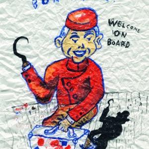 Bon Voyage, Happy Days Series, 2013 Giclee print on paper, 40x30