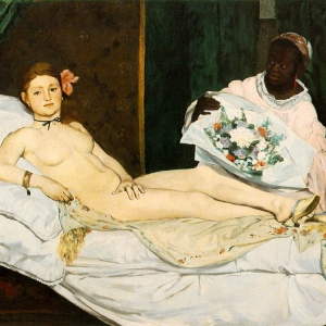 Manet, Olympia, 1863. Oil on Canvas