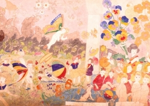 Henry Darger image from the Story of the Vivian girls