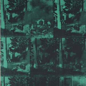 Warhol, Green Car Crash, 1963-6