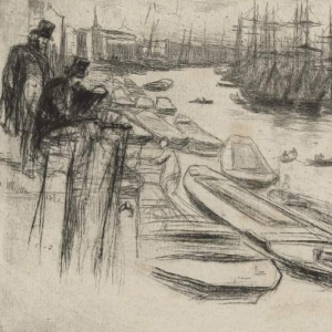 Whistler, The Little Pool, 1861