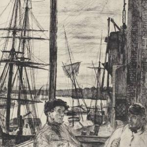 Whistler, Rotherhithe, 1860