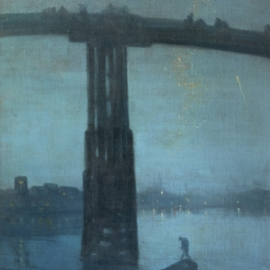 Whistler, Nocturne Blue and Gold Old Battersea Bridge,  c 1872 5 Oil on canvas