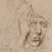 Dürer, Self-Portrait (detail),  1491-92