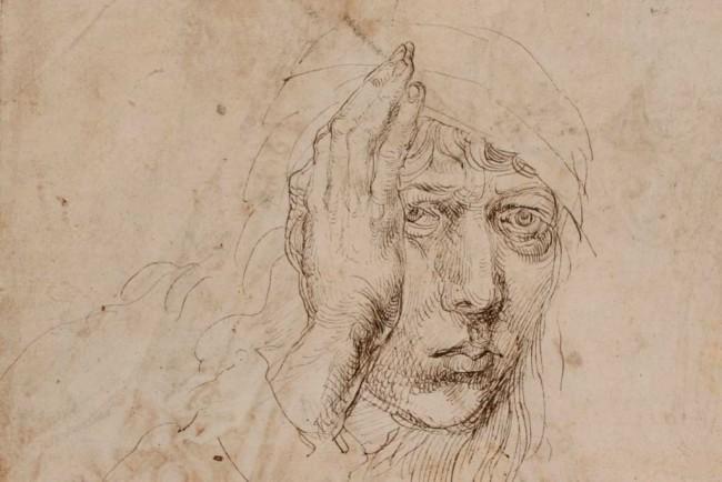 Dürer, Self-Portrait (detail),  1491-92
