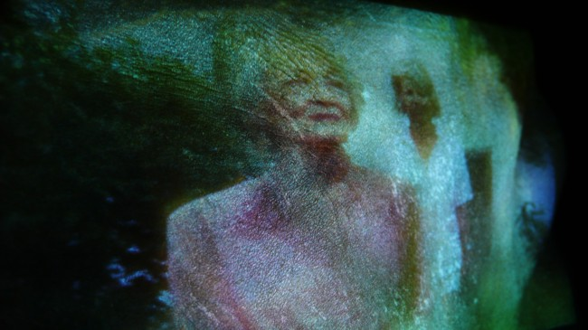 Stehlikova and Driscoll, Every mother and daughter, 2013. Sculptural Video Installation. Photo London Czech Centre