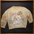 Frances Bacon's jumper, view at the Tempus Gallery in Brick Lane, London
