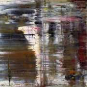 "Gerhard Richter, Abstract Painting, 1990. Citi Private Bank have described Richter as ""the next great market force""."