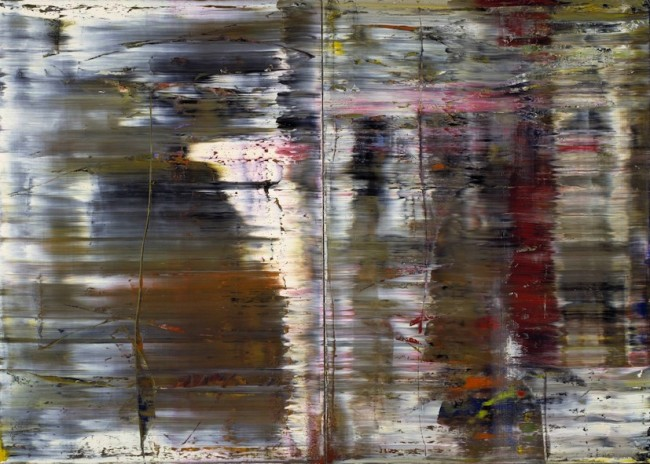 """Gerhard Richter, Abstract Painting, 1990. Citi Private Bank have described Richter as """"the next great market force""""."""