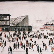 Lowry, Going to the Match, 1953