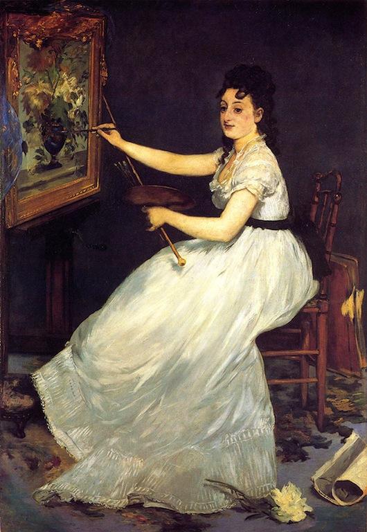 Manet, Eva Gonzalès, 1870
