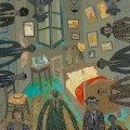 Tasos Pavlopoulos, The Left Ear, 2011. Acrylic paint on canvas,180x160cm