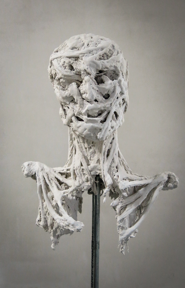 Alexandra Leyre Mein, Vain, 2013. Synthetic plaster.