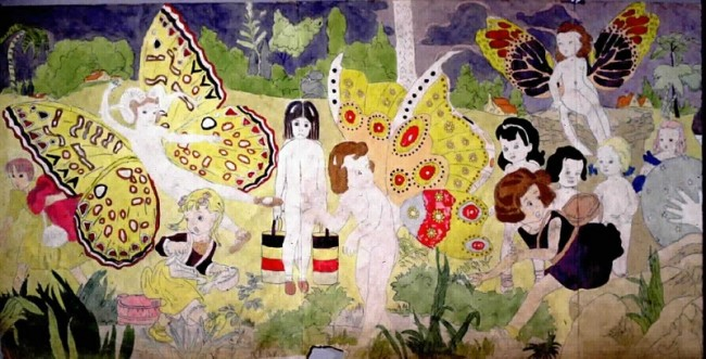 Henry Darger, Illustration from The Story of the Vivian Girls