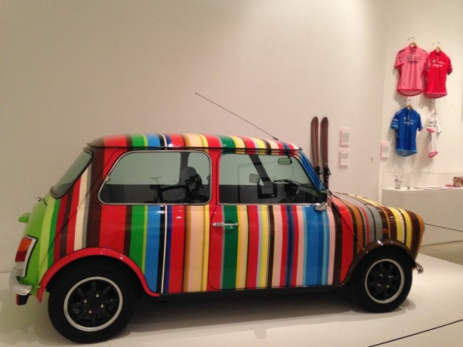Paul Smith, Limited edition Mini Cooper customised by Paul Smith