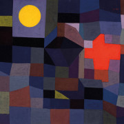 Paul Klee, Alert and Alive...Fire at Full Moon, 1933